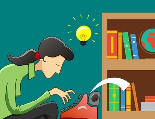 Als je hoofd te vol is, lukt het schrijven niet
